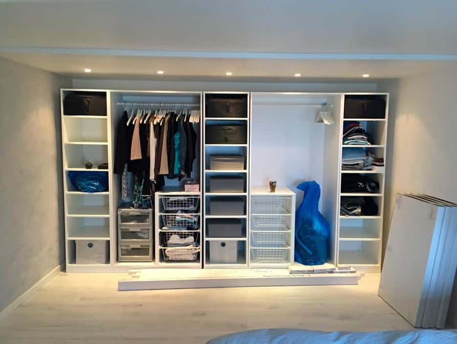 indretning garderobe
